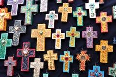 Kruisen voor verkoop, Mexico royalty-vrije stock afbeelding
