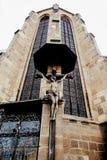 Kruisiging van Christus Royalty-vrije Stock Afbeeldingen