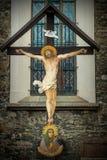Kruisiging van Jesus Royalty-vrije Stock Afbeeldingen