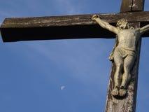 Kruisiging van Jesus-Christus Royalty-vrije Stock Afbeeldingen