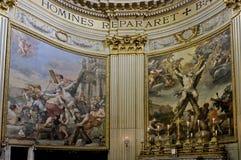 Kruisiging van st Andrew de apostel Royalty-vrije Stock Afbeelding
