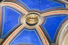 Kruisiging van St Peter Painting - Rome stock afbeeldingen