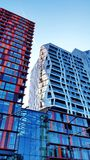 Kruisplein-Wohnungen in Rotterdam stockbild