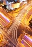 Kruispunt in Tel Aviv royalty-vrije stock afbeeldingen
