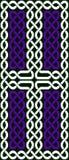 Kruisvormige Keltische knoop Stock Foto's