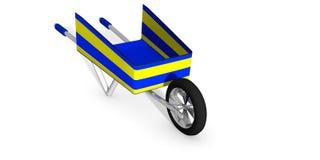 Kruiwagen Royalty-vrije Stock Foto
