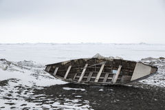 Kruiwagen Alaska royalty-vrije stock foto's