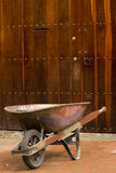 Kruiwagen Bogota royalty-vrije stock foto