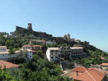 Kruja-Schloss, Albanien Stockfoto