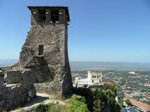 Krujakasteel, Albanië royalty-vrije stock afbeeldingen