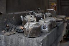 Kruka för kokande vatten Royaltyfria Bilder