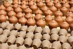 Krukmakeri i Nepal, krukmakeri Royaltyfri Bild