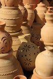 Krukmakeri i Nizwa Souq, Oman arkivbilder