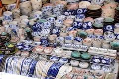 Krukmakeriprodukter i shoppa, Vietnam Royaltyfria Foton