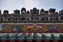 Krukmakerivapnet på taket av den kinesiska släkt- korridoren Fotografering för Bildbyråer