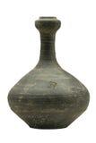 Krukor för Han Dynasty svartlera arkivbilder