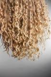 krullande hår Arkivfoton