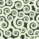 Krullen naadloos patroon Royalty-vrije Stock Foto