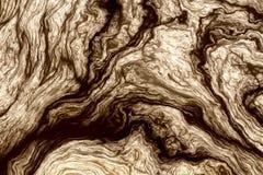Krullende houten textuur Stock Foto's