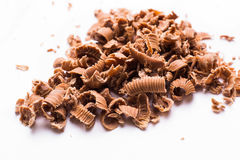Krume der Schokolade stockfoto