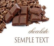 Krumen der Schokolade Lizenzfreie Stockfotografie