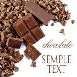 Krumen der Schokolade Lizenzfreie Stockfotos