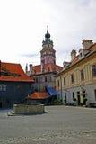 krumlov замока cesky Стоковая Фотография