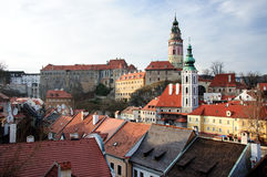 Krumlov Royalty Free Stock Images