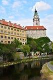 Krumlov Castle, Czech Republic Royalty Free Stock Photo