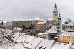 Krumlov Castle, Czech republic Stock Image