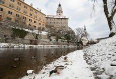Krumlov Castle, Czech republic Royalty Free Stock Photography