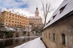 Krumlov Castle, Czech republic Royalty Free Stock Image