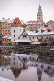 Krumlov Castle, Czech republic Stock Photo