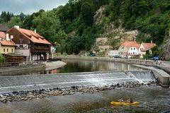 Krumlov Stock Photo