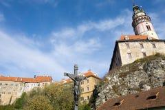 Krumlov checo Fotografia de Stock