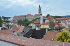 Krumlov checo imagem de stock royalty free