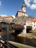 Krumlov, Czech Republic Stock Photography