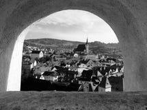 ½ Krumlov di ÄŒeskà in Boemia Fotografia Stock
