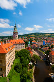 krumlov grodowa cesky czeska republika Obrazy Royalty Free