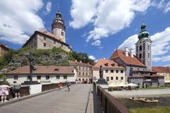 krumlov grodowa cesky czeska republika Fotografia Royalty Free