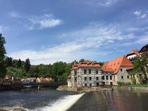 Krumlov tchèque Image libre de droits