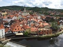 Krumlov tchèque Images libres de droits