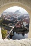 Krumlov tchèque Photos libres de droits