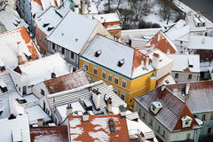 Krumlov town view, Czech republic Royalty Free Stock Images
