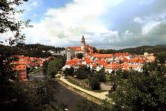 Krumlov2 tchèque Photographie stock libre de droits