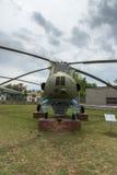 KRUMOVO, PLOVDIV, ΒΟΥΛΓΑΡΊΑ - 29 ΑΠΡΙΛΊΟΥ 2017: ελικόπτερο Mi 4 στο μουσείο αεροπορίας κοντά στον αερολιμένα Plovdiv Στοκ φωτογραφία με δικαίωμα ελεύθερης χρήσης