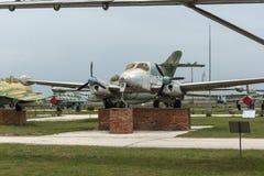 KRUMOVO, PLOVDIV, BULGARIJE - 29 APRIL 2017: Vliegtuig L 200 in Luchtvaartmuseum dichtbij Plovdiv-Luchthaven Stock Afbeeldingen