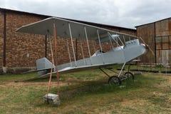 KRUMOVO, PLOWDIW, BULGARIEN - 29. APRIL 2017: Luftfahrt-Museum nahe Plowdiw-Flughafen lizenzfreie stockfotografie