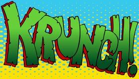Krunch Sound Effect royalty free illustration