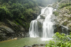 Krung ching water fall Royalty Free Stock Image